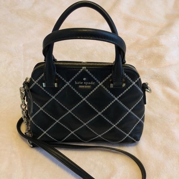kate spade Handbags - SALE ⚡ Kate Spade Leather Quilted Handbag EUC 6b8e11260b